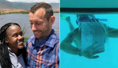 Τραγωδία: Έκανε υποβρύχια πρόταση γάμου και πνίγηκε