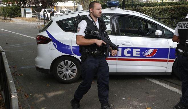 Γάλλος αστυνομικός - φωτογραφία αρχείου
