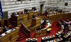 Απο την συνεδρίαση της Βουλής για το νομοσχέδιο του υπουργείου Περιβάλλοντος