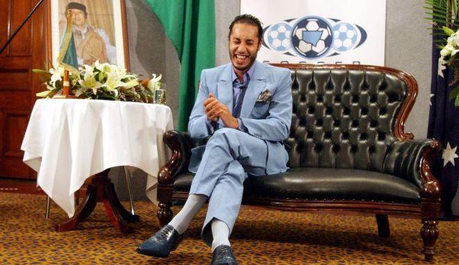 Ο Σαάντι Καντάφι