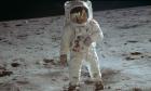 Φωτογραφία που διατέθηκε από τη NASA, ο αστροναύτης Buzz Aldrin (φωτογραφία αρχείου)