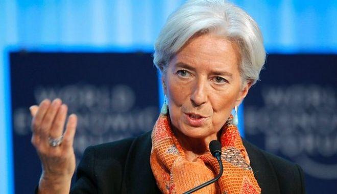 Λαγκάρντ: Στόχος μας είναι η αποκατάσταση της σταθερότητας στην ελληνική οικονομία