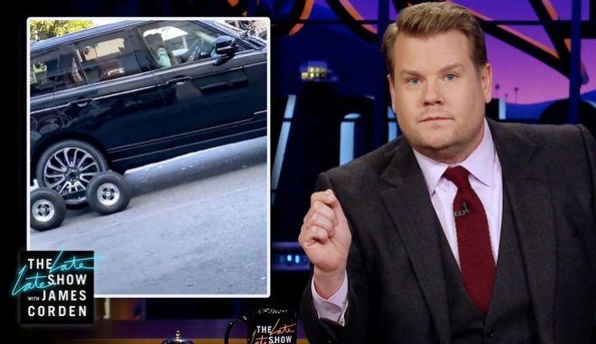 """""""Ξεσκέπασαν"""" τον James Corden για το carpool karaoke: """"Το μεγαλύτερο ψέμα μετά τον Άι Βασίλη"""""""