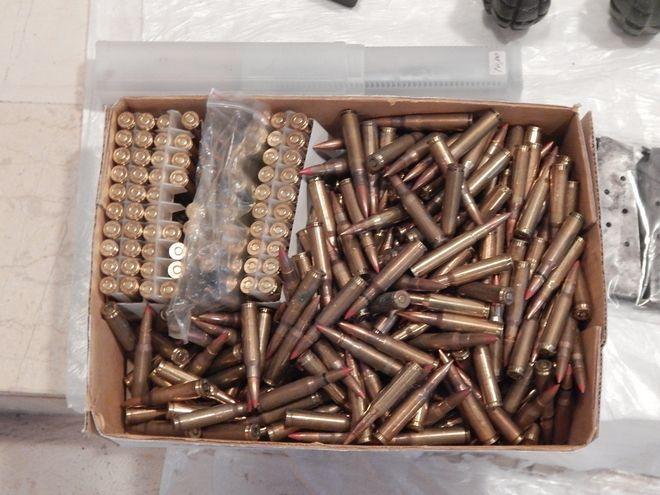 Ολόκληρο οπλοστάσιο σε χωράφι στο Ρέθυμνο