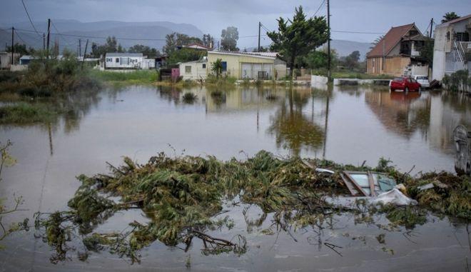 """Καταστροφές από το πέρασμα του μεσογειακού κυκλώνα """"Ζορμπά"""" στον δήμο Άργους - Μυκηνών"""