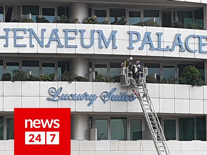 Φωτιά στο Athenaeum Palace: Ψάχνουν τον εμπρηστή που παραλίγο να κάψει πέντε ανθρώπους