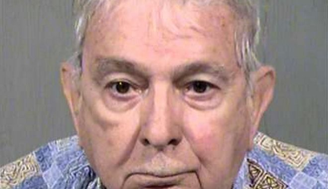 This undated photo provided by the Maricopa County Sheriffs Office shows John Feit. The former priest has been arrested Tuesday, Feb. 9, 2016, in Arizona in the 1960 slaying of a 25-year-old Texas schoolteacher and beauty queen, Irene Garza. (Maricopa County Sheriffs Office via AP)