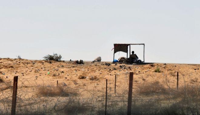 Στρατιώτης στα σύνορα του Ισραήλ (φωτογραφία αρχείου)
