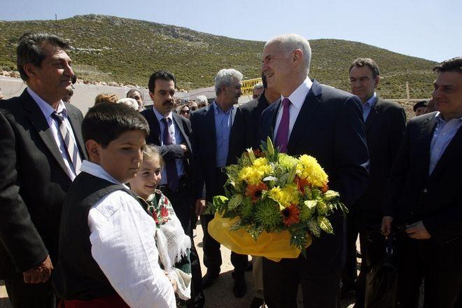 Παραλειπόμενα στιγμιότυπα από την επίσκεψη του τότε Πρωθυπουργού Γιώργου Παπανδρέου στο Καστελόριζο και την Ρόδο,την Παρασκευή 23/4 και το Σάββατο 24/4 2010
