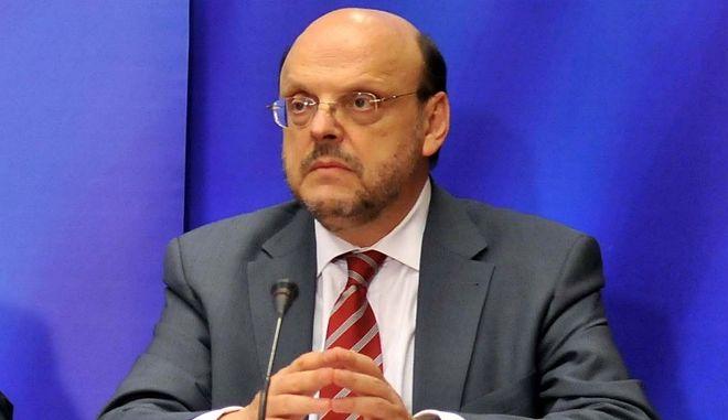 Ο πρώην κυβερνητικός εκπρόσωπος της κυβέρνησης Καραμανλή Ευάγγελος Αντώναρος