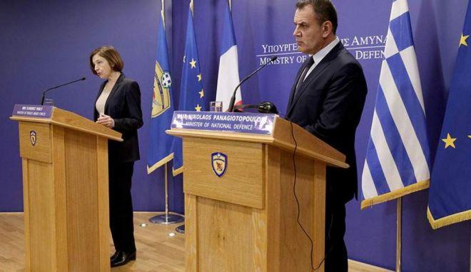 Ελλάς-Γαλλία για ελληνοτουρκικά: Τι συζήτησαν Παναγιωτόπουλος – Παρλί