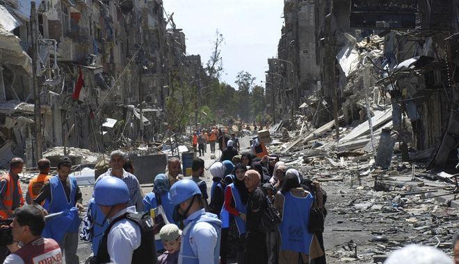 Βίαιες συγκρούσεις κοντά στη Δαμασκό, μετά την επίθεση τζιχαντιστών και ανταρτών