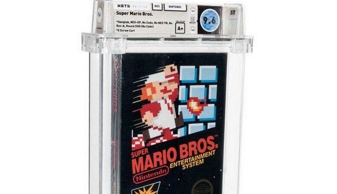 Σφραγισμένο αντίτυπο του Super Mario Bros. πωλήθηκε 660.000 δολάρια