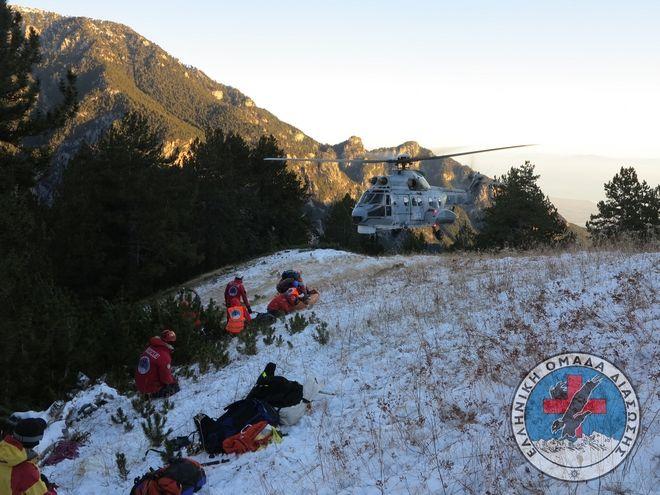 Νεκρός ανασύρθηκε ο ένας από τους δύο ορειβάτες στον Όλυμπο- Τραυματίας ο δεύτερος