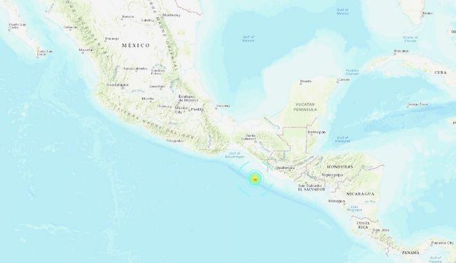 Σεισμός Μεξικό 6,3 Ρίχτερ
