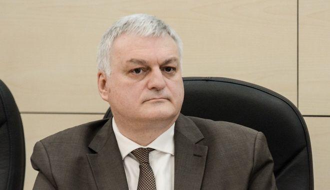 O γενικός γραμματέας της ΠΟΕΣΕ Γιώργος Κουράσης