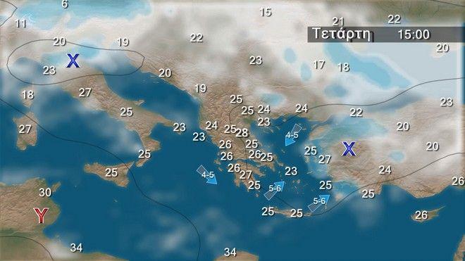 Καιρός: Άνοδος της θερμοκρασίας μέχρι τη Δευτέρα - Βροχές από Τρίτη