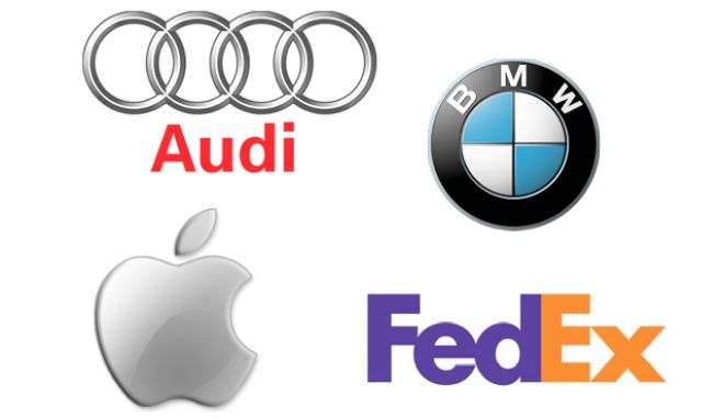 """Τα """"κρυφά"""" μηνύματα πίσω από τα λογότυπα εταιρειών"""