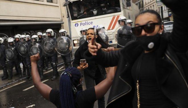 Διαμαρτυρίες στο Βέλγιο