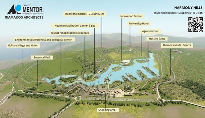 Εντείνονται οι προσπάθειες για το Harmony Hills στη Δεσφίνα, ύψους 370 εκατ. ευρώ