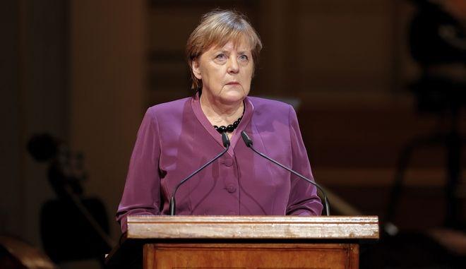Η καγκελάριος της Γερμανίας 'Αγγελα Μέρκελ