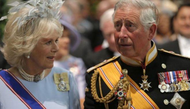 Ο Κάρολος και η Καμίλα