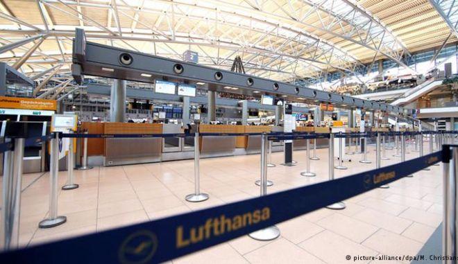 Γερμανία: Συνεχίζονται οι κινητοποιήσεις των πιλότων στη Lufthansa