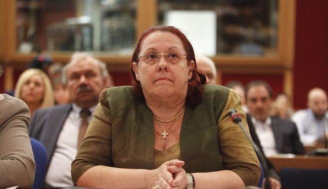 H γενική επιθεωρήτρια δημόσιας διοίκησης Μαρία Παπασπύρου