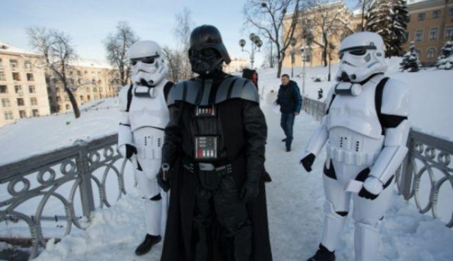 Κίεβο: Εισβολή του Darth Vader στο υπουργείο Δικαιοσύνης