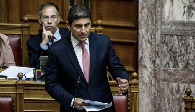 Ο Υφυπουργός Πολιτισμού και Αθλητισμού κ. Λευτέρης Αυγενάκης