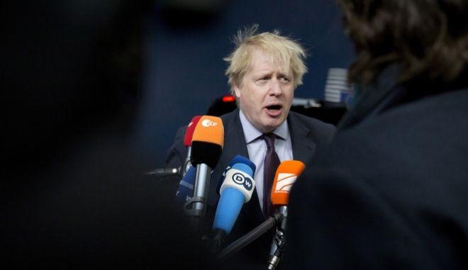 Ο Βρετανός υπουργός των Εξωτερικών Μπόρις Τζόνσον