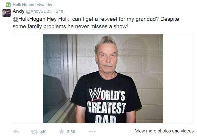 Η φάρσα στο Twitter που εξόργισε τον Hulk Hogan