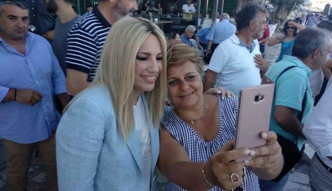 Επίσκεψη της Προέδρου του Κινήματος Αλλαγής Φώφης Γεννηματά, στην Κρήτη