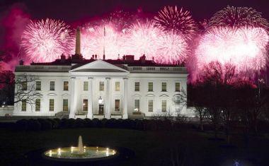 Το Firework της Κέιτι Πέιρι έδωσε το σύνθημα για να φωτιστεί ο ουρανός πάνω από τον Λευκό Οίκο