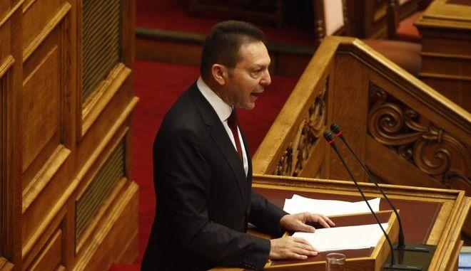 Συζήτηση για τον προϋπολογισμό του 2014 στην Βουλή το Σάββατο 7 Δεκεμβρίου 2013.  (EUROKINISSI/ΓΙΩΡΓΟΣ ΚΟΝΤΑΡΙΝΗΣ)