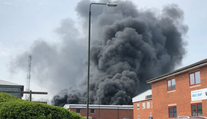 Ισχυρή έκρηξη στο Ντέρμπι της Αγγλίας - Δεν υπήρξαν τραυματίες