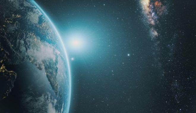 Η Γη όπως φαίνεται από το διάστημα