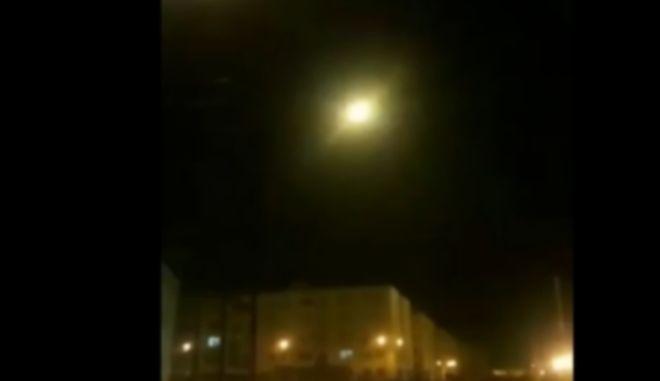 Η στιγμή που ο πύραυλος χτυπάει το ουκρανικό αεροσκάφος στο Ιράν
