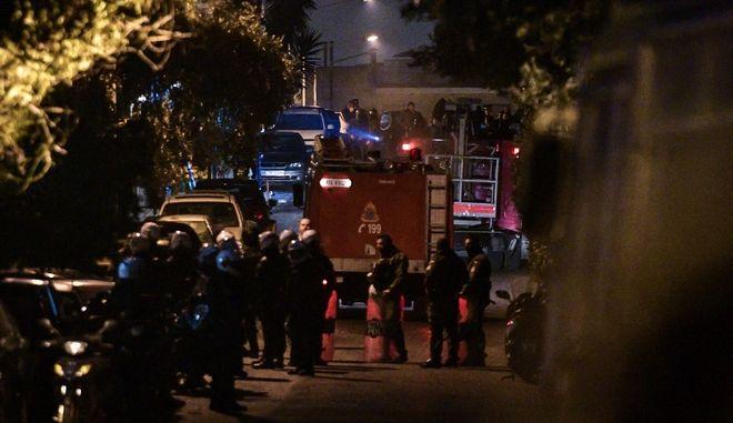 Αστυνομική επιχέιρηση στο Κουκάκι.
