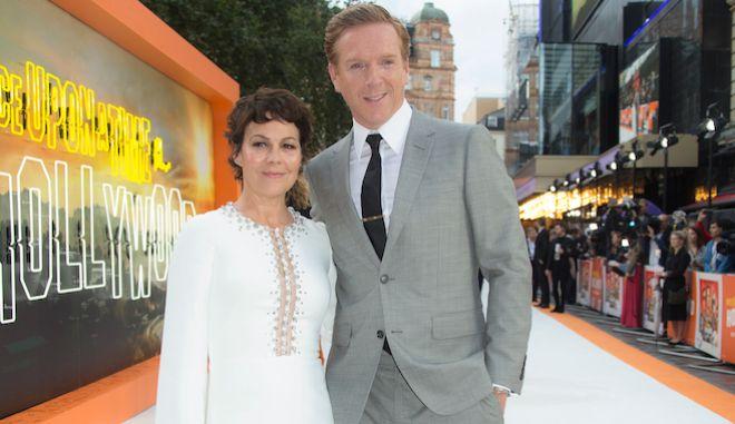 Η ηθοποιός Helen McCrory και ο σύζυγός της Damian Lewis στην πρεμιέρα του Once Upon A Time in Hollywood, στο Λονδίνο, 30 Ιουλίου 2019