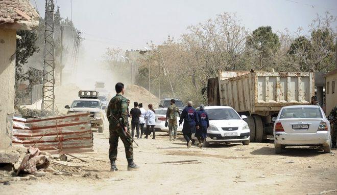 Σύροι στρατιώτες στην ανατολική Γιούτα