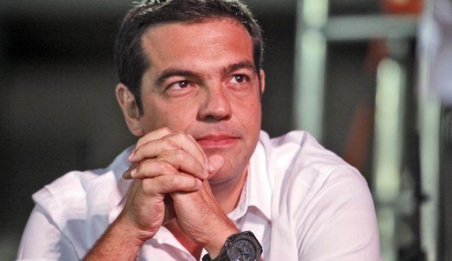 Σε εκδήλωση με θέμα: «Η ανατροπή σε Ελλάδα και Ευρώπη: πόσο μακριά αλλά και πόσο κοντά» μίλησε ο Αλέξης Τσίπρας την Κυριακή 29 Σεπτεμβρίου 2013, στο πλαίσιο του 2ου Φεστιβάλ Νέων ΣΥΡΙΖΑ..(EUROKINISSI/ΓΙΩΡΓΟΣ ΚΟΝΤΑΡΙΝΗΣ)