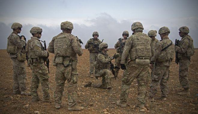 Αμερικανοί στρατιώτες στη Συρία