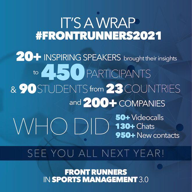 Πάνω από 20 σπουδαίοι ομιλητές & συμμετέχοντες από 23 χώρες στο Front Runners 3.0