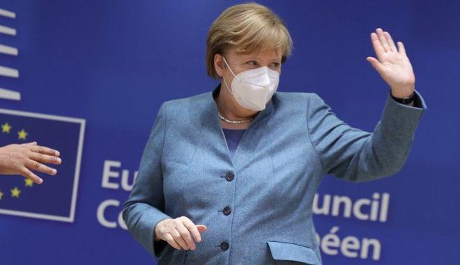 Η Άνγκελα Μέρκελ μετά τη Σύνοδο Κορυφής
