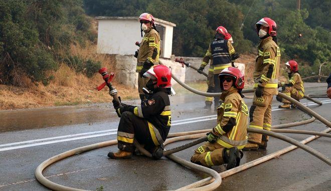 Οι Πολωνοί πυροσβέστες