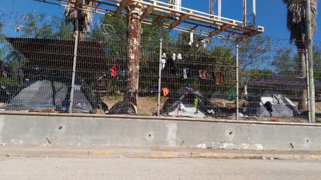 Καταυλισμός στα σύνορα ΗΠΑ-Μεξικό