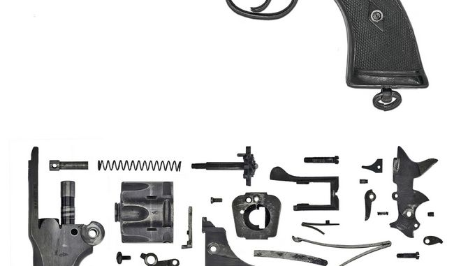 Webley Revolver Mark IV