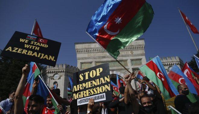 Διαδηλώσεις στο Αζερμπαϊτζάν