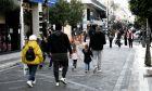 Δρόμος με καταστήματα στην Πάτρα